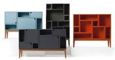 Citti modular storage shelves by Håkan Johansson