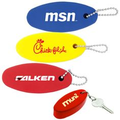 Promotional Floating Keychain | Trade Show Giveaways | 0.67 Ea.