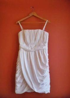 Kup mój przedmiot na #vintedpl http://www.vinted.pl/damska-odziez/krotkie-sukienki/9735556-sukienka-hm-biala-ecru-nieuzywana