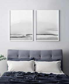 Bedroom Print Set Printable Wall Art Set of 2 Prints Abstract Wall Art Printable Abstract Art Blush Pink and Gray Art Bedroom Wall Art Grey Wall Art, Grey Art, Pink Wall Art, White Art, Bedroom Prints, Bedroom Art, Blue Bedroom, Trendy Bedroom, Art Gris