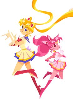 lucyf719 Sailor Moon & Chibiusa Sailer Moon, Sailor, Pikachu, Fan Art, Cartoon, Anime, Illustrations, Fictional Characters, Illustration