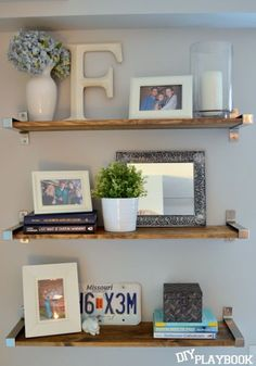 Awesome Ikea Shelves Turned Rustic In A Few Simple Steps! Part 25