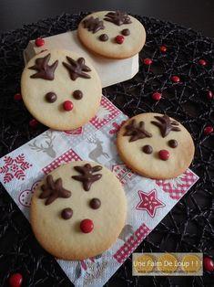 Les sablés Rudolph  http://unefaimdeloup.eklablog.com/les-sables-rudolph-a113987074