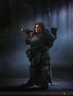 Dwarf Paladin, Cleric, D D Characters, Fantasy Characters, Fantasy Girl, Dark Fantasy, Character Inspiration, Character Art, Female Dwarf