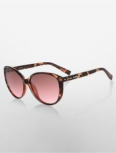 6cba3f30a35a Calvin Klein Womens Studded Cat Eye Sunglasses Soft Tortoise -  74.00