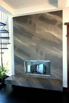 Brown Armani Granite Fireplace Surrounds