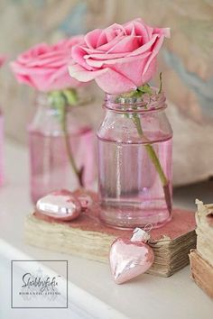 ♡♥ ♫ romantic pink rose ..  X ღɱɧღ ||