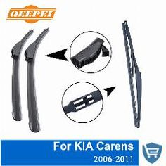 MITO Hatchback Aug 2008 Onwards Windscreen Wiper Blade Set Front and Rear Blades 3 x Blades