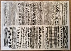 Image result for mark making with a dip pen