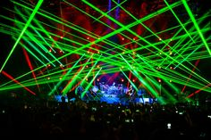 laser light show and dance your heart out
