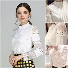 Camasa Selma-65 Lei #lacesleve #long sleve #perfectforautumn #casualwear #elegantwear #white #blouse #trendy #clothes #moda #ordernow