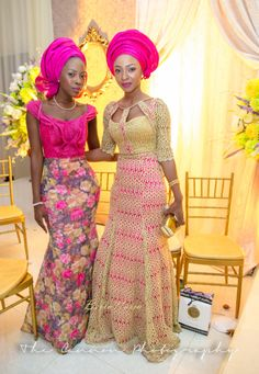 New latest african fashion look ! African Wedding Dress, African Print Dresses, African Dress, African Weddings, African Lace, African Inspired Fashion, African Print Fashion, Africa Fashion, African Attire
