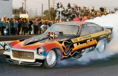 Funny Car Drag Racing, Nhra Drag Racing, Funny Cars, Revell Model Kits, Top Fuel Dragster, Old Race Cars, Top Cars, Drag Cars, Vintage Humor