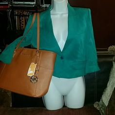 BCBG Blazer Beautiful blazer new with tags it would look great with jeans stylish and trendy BCBG Jackets & Coats Blazers