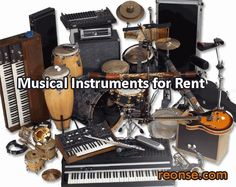 We rent musical instruments, sound equipment, and much more, to make instruments available to people in an easy and affordable manner. - reonse.com