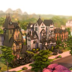 Casas The Sims 4, Save File, Sims 4 Build, Sims 4 Houses, My Sims, Ts4 Cc, Sims 4 Mods, Fantasy, Mansions