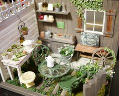 Garden Miniatures - Hayatymama