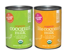 Natural Value Organic Coconut milk - JUST coconut. Very LEAP Diet Friendly.