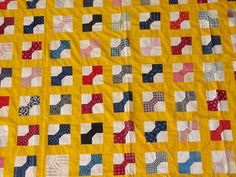 bow tie quilts of the thirties | bow ties
