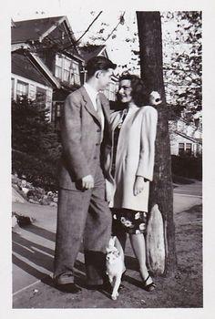 1940s found photo