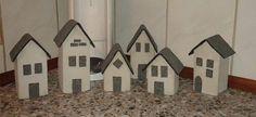 Betonhuse med tagpap