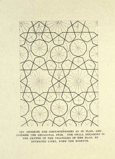 Moorish pattern designs for a stencil from Alan Carroll