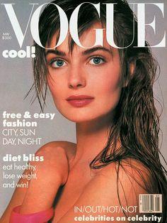 Paulina Porizkova by Richard Avedon Vogue US May 1986