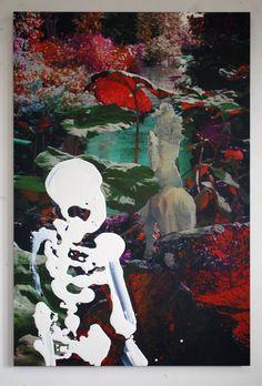 The Watchman, Marieke Bolhuis, mixed media on Alu print,80x120cm, 2016