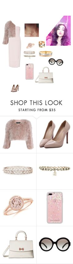 """""""KKT"""" by mariaxl ❤ liked on Polyvore featuring Miss Selfridge, WithChic, Jack Kelége, Chanel, Rebecca Minkoff, Ted Baker and Prada"""