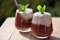 Kokosový chia pudink