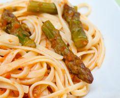 spaghettis aux asperges : Recette de spaghettis aux asperges - Marmiton