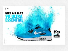 Nike Air Max 90 Ultra Essential UI Concept.  Huge fanboy of Nike. Just bought my new pair and super excited to work on some self initiated concept designs for their online store.  Going for the pow...