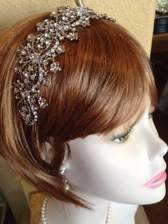 Beautiful Bold and Majestic Headband for your special Wedding Day!