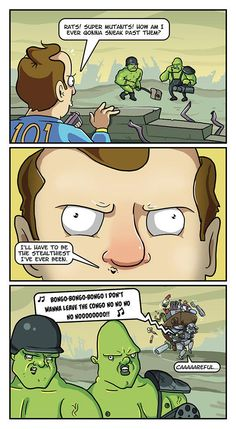 "Fallout Memes To Take Into Nuclear Winter - Funny memes that ""GET IT"" and want you to too. Get the latest funniest memes and keep up what is going on in the meme-o-sphere. Fallout 4 Funny, Fallout Art, Fallout New Vegas, Fallout Comics, Fallout Quotes, Fallout Tips, Gamer Humor, Gaming Memes, Video Game Memes"