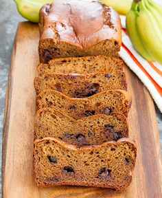 This easy, gluten free, quick bread contains no flour and can be easily mixed in a blender. It's very quick to prepare and the end result is a moist, fluffy banana bread with a subtle peanut butter flavor and melted chocolate chips throughout. I'm a little obsessed with flourless quick breads right now. So far …