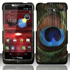 b1c124b21b2 For Motorola Droid RAZR M 4G LTE XT907 (Verizon) Rubberized Design Cover -  Blue