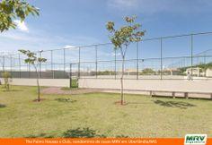 Quadra de Futebol do The Palms Houses e Club. Condomínio fechado de casas de 3 e 4 quartos com suíte em Uberlândia/MG, no Jardim Karaíba.