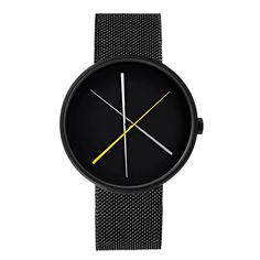 The Crossover was designed by Milan-based designer Denis Guidone for Projects. #watches #design