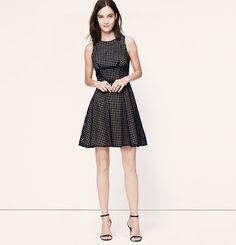 Square Cotton Eyelet Dress   Loft