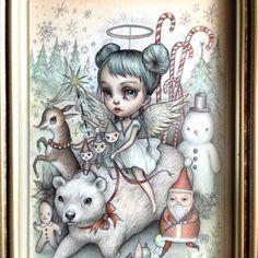 The Sugarplum Gang - original illustration by Mab Graves