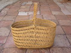 Carlos Fontales - Basketry Esparto.  Cofin point technique. Basket and trivet.