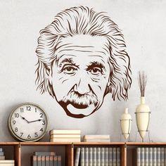 Vinilos Decorativos: Albert Einstein 2 0