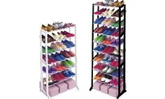Groupon - 7- or 10-Tier Shoe Rack in Choice of Colour from £7.99 in [missing {{location}} value]. Groupon deal price: £7.99