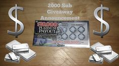 💰PLATINUM PAYOUT💰 NC LOTTERY Giveaway Announcement