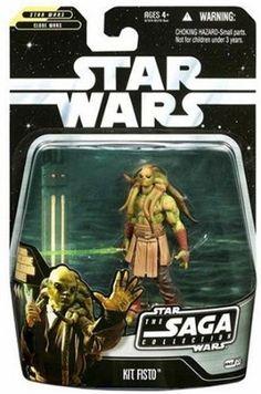 Amazon.com: Star Wars - The Saga Collection - Basic Figure - Kit Fisto: Toys & Games