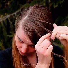 Hair Tips, Hair Hacks, Bride Hairstyles, Easy Hairstyles, Beauty Tutorials, Hair Makeup, Hair Accessories, Hair Styles, Clothes