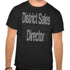 District Sales Director Extraordinaire T Shirt, Hoodie Sweatshirt