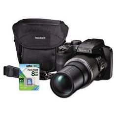 Fuji 600013636 Finepix S9400w Digital Camera Bundle 50x Optical Zoom 16mp  Fuji $277.93