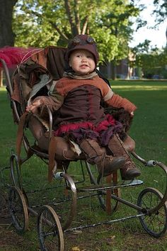 Beautiful steam punk baby!