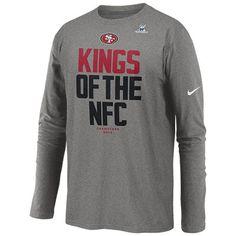 San Francisco 49ers Baseline Long Sleeve Thermal T-Shirt - Scarlet